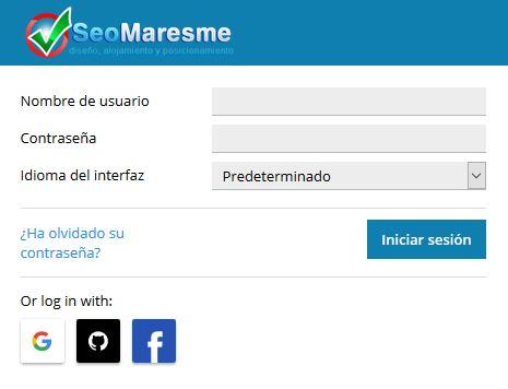 Mostrar el acceso al Panel Plesk a los clientes