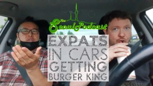 Expats in Cars Getting Burger King