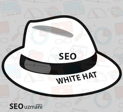 Beyaz şapka seo