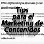 3 Tips para la optimización del marketing de contenidos