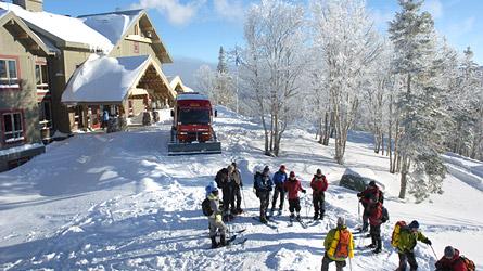 Dcouvrez lAuberge de montagne des ChicChocs en un clin doeil  Auberge de montagne des Chic