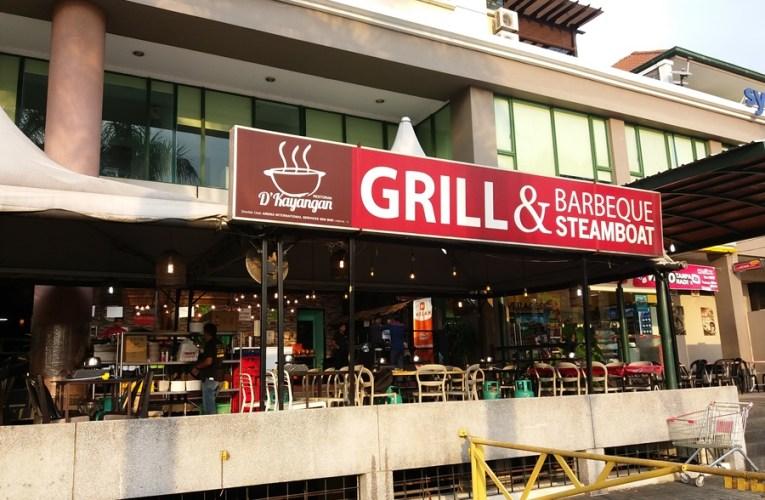 Ikan Patin Dan Ikan Keli Bakar Di D'Kayangan Steamboat Grill