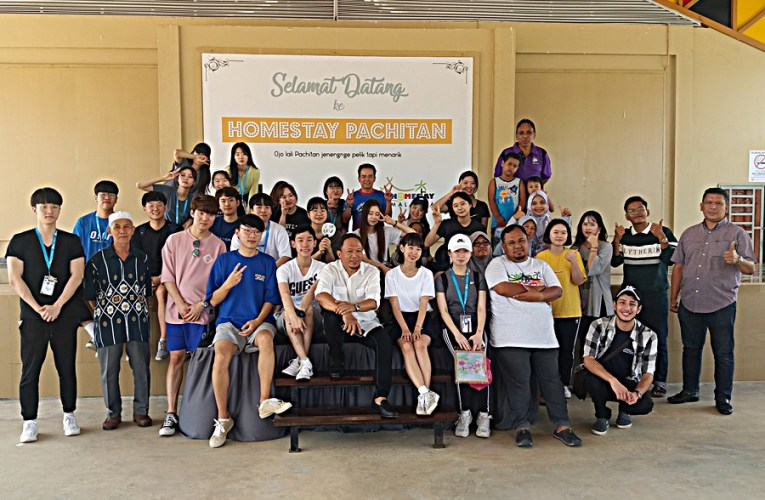 Pelajar Korea Di Homestay Pachitan, Pemenang ASEAN Homestay Standard 2019-2021