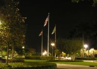 Solar Powered LED Flag Lighting Systems | SEPCO-Solar Lighting