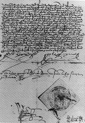 Copy of Edict of Expulsion