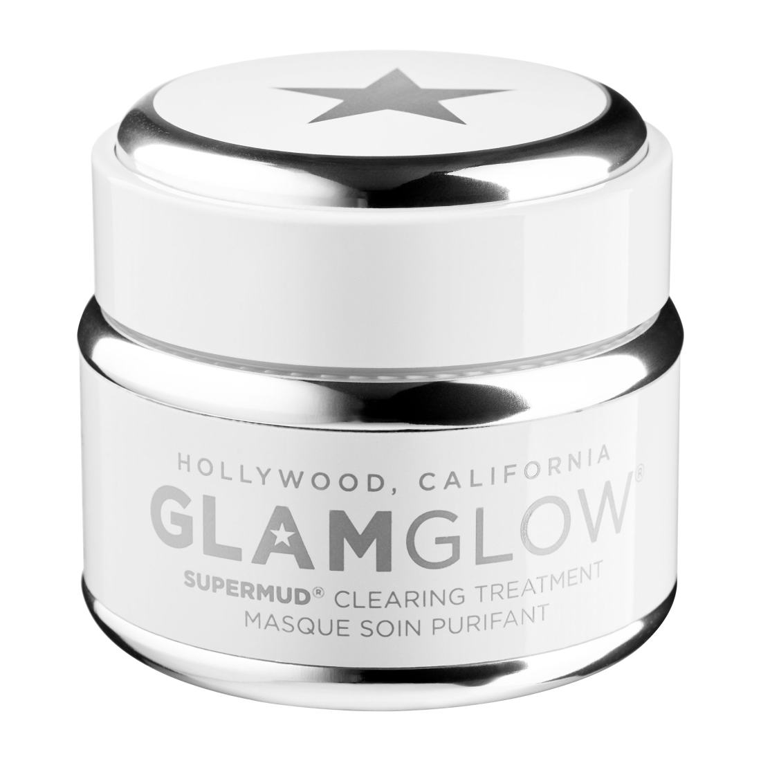GLAMGLOW - SUPERMUD® Activated Charcoal Treatment Mask 1.7 oz/ 50 g