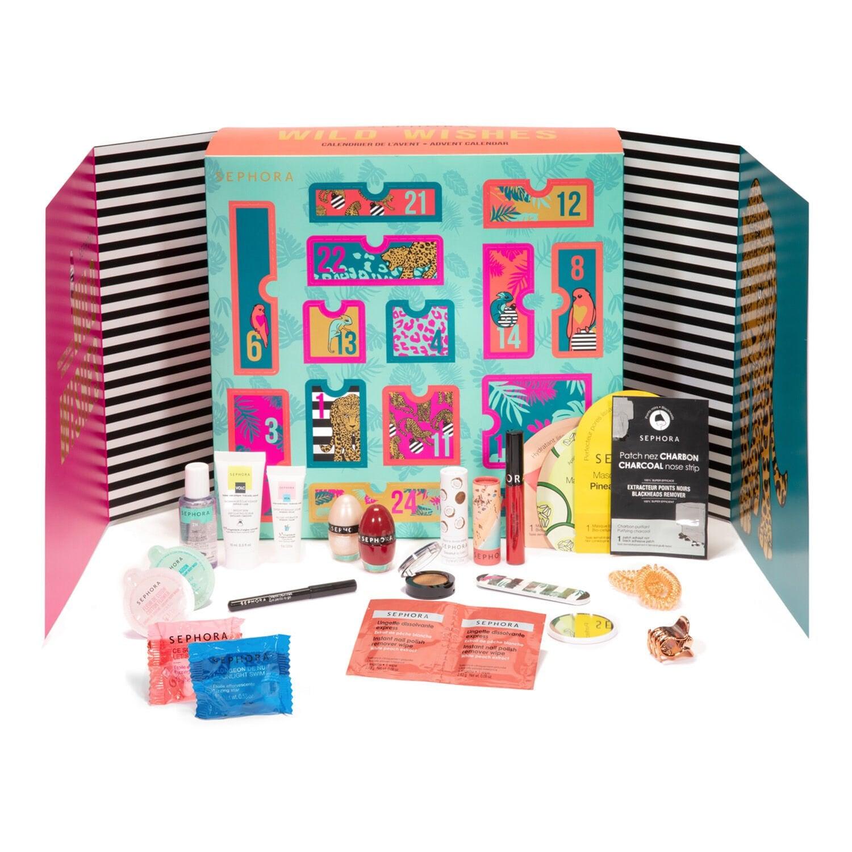 Calendrier De L Avent 2020 Wild Wishes 24 Surprises Beaute De Sephora Collection Sephora