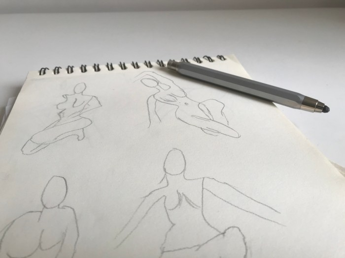 figure drawing to improve focus