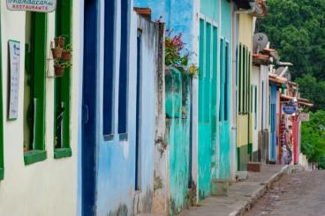 Brazil color houses