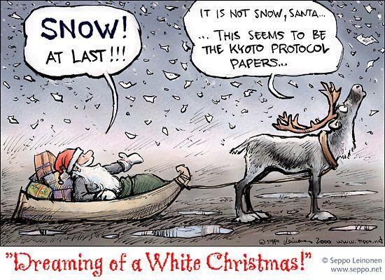 Santa Claus and Kyoto protocol