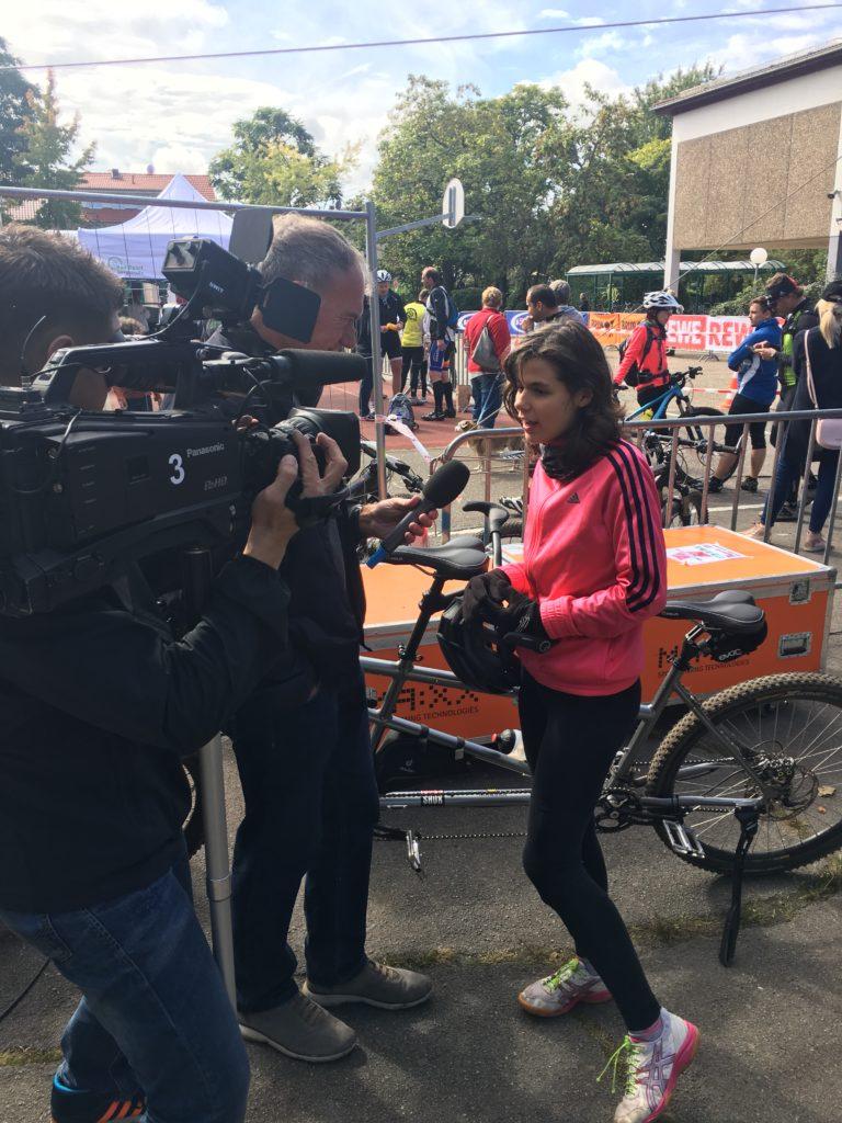 Interview nach dem Rennen