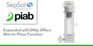 Expanded piFLOWp Offers Wet-In-Place Function