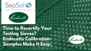 Is It Time To Recertify Your Testing Sieves?