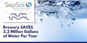 Read more about the article Leading American brewery Saves 3.2 million gallons of water per year with Alfa Laval