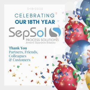 SepSol's 18th Anniversary