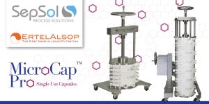 ErtelAlsop's Uniquely Flexible Single-Use Depth Filtration Capsules