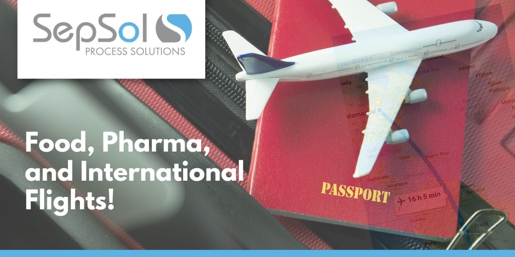 You are currently viewing Food, Pharma and International Flights!