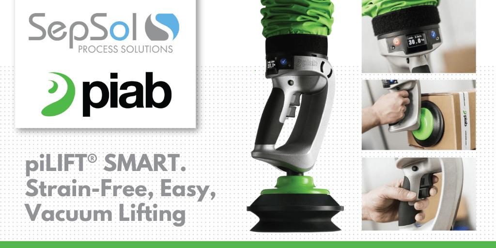 Strain-Free, Easy Lifting. Piab piLIFT® SMART.