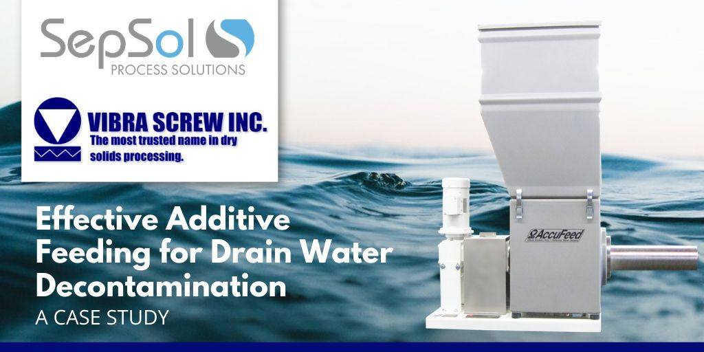 AccuFeed: Innovative Screw Feeder Uses Controlled Vibration to Accurately Feed Hydrated Lime Treatment