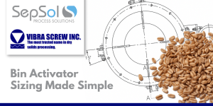 Bin Activator Sizing Made Simple: Vibra Screw