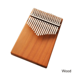 Kalimba en Bois Simple