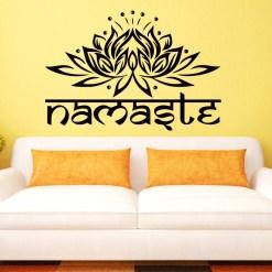 Stickers Muraux Fleur de Lotus Namasté