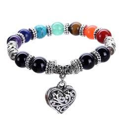 Bracelet 7 Chakras guérison et amour