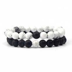 Bracelet Couple Pierre Naturelle