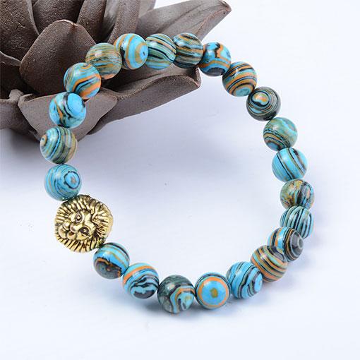 Bracelet Pierre Homme King Bleu