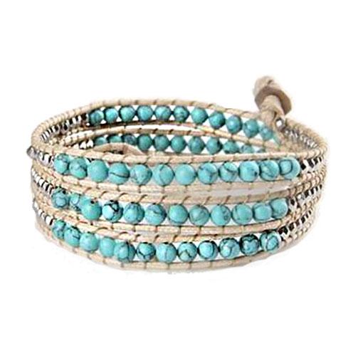 Bracelet Pierre Turquoise Femme