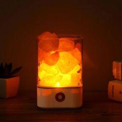 Lampe de Sel Himalaya Mulitcolore