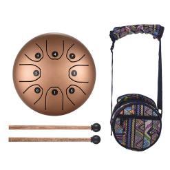 Steel Tongue Drum Doré - Sept Chakras
