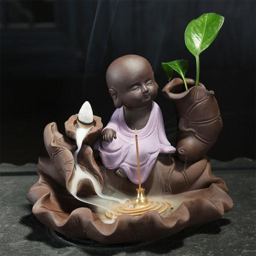 Encensoir Moine Bouddhisme