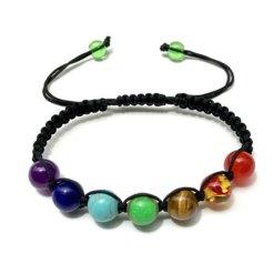 bracelet 7 chakras authentique 8mm
