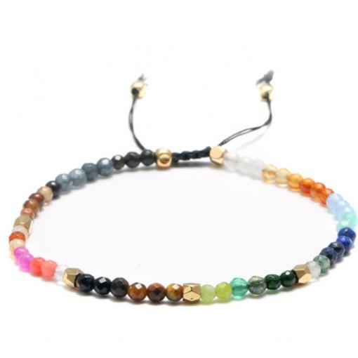 Bracelet 7 Chakras Constellations