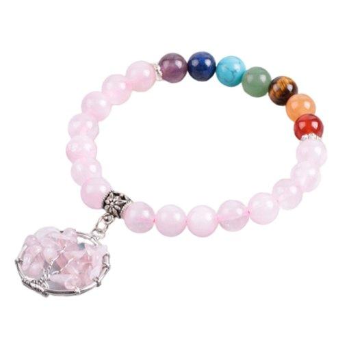 Chakra Bracelet Rose Quartz