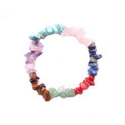 bracelet 7 chakras vrai pierre