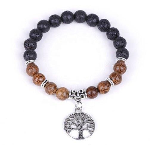 Bracelet Arbre de Vie Bois