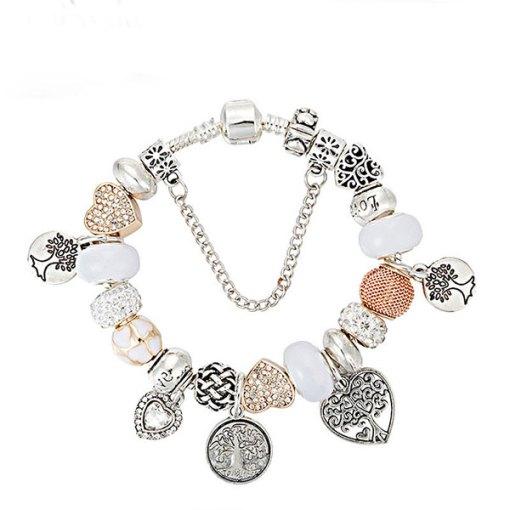 Bracelet Arbre de vie Coeur