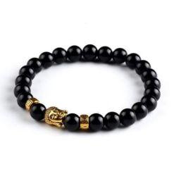 Bracelet Bouddha Doré Karma