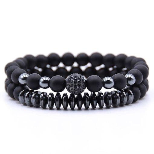 Bracelet Homme Perle Energie