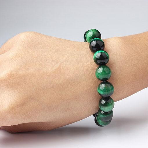 Bracelet Pierre Verte Mantra