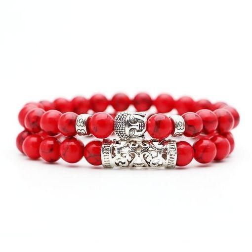 Bracelet Rouge Bouddha