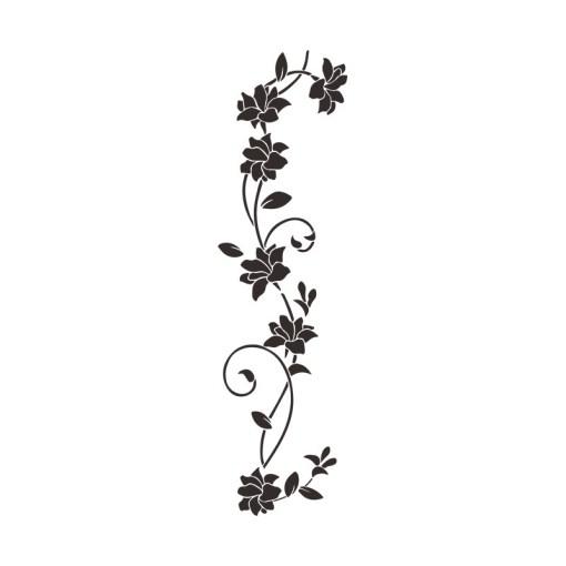 Stickers Fleurs Grimpantes Sauvages