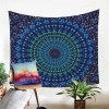 Tenture Murale Mandala Bleu