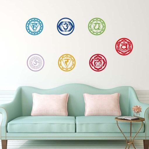 Chakra Stickers Harmonisation