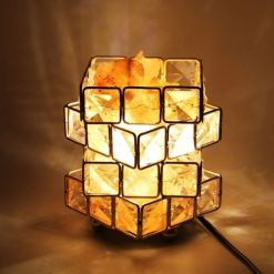 Véritable lampe de sel de l'himalaya