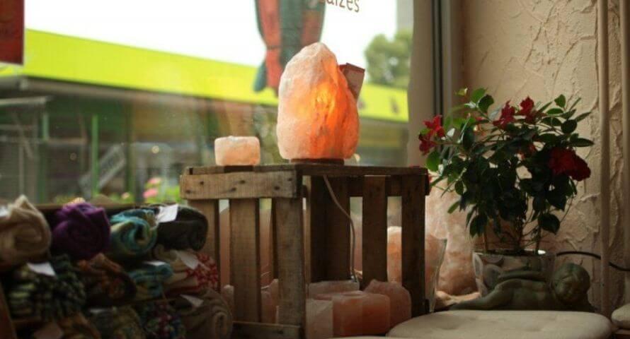 lampe cristal de sel vertus écologique
