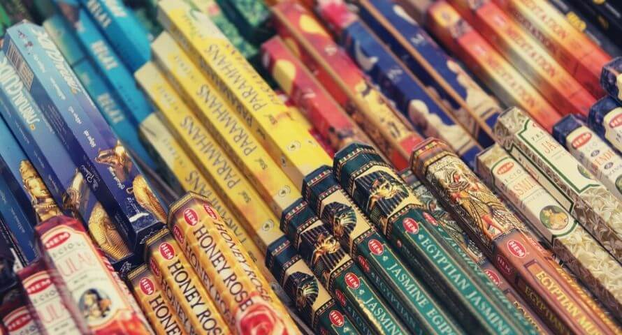 Choisir un bâton d'encens