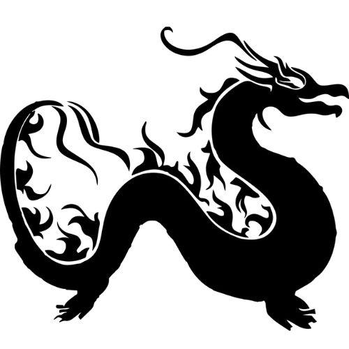 Symbole dragon - symbole dragon chinois - symbole reiki dragon feu